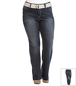 Wallflower® Plus Size Curvy Bootcut Jeans