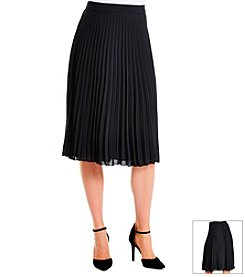 Jessica Simpson Pleated Midi Skirt