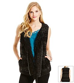 Jessica Simpson Reversible Sweater Vest