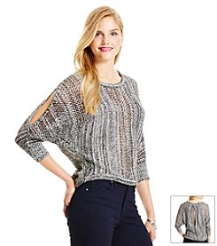 Jessica Simpson Cold Shoulder Sweater