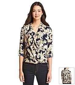 Nine West Jeans® Rose Bud Top