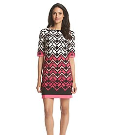 Eliza J® Printed Shift Dress