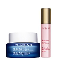 Clarins Multi-Active Anti-Aging Nighttime Duo Gift Set (A $84 Value)