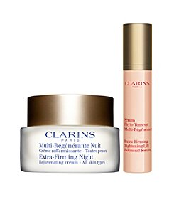 Clarins Extra-Firming Anti-Aging Nighttime Duo Gift Set (A $119 Value)