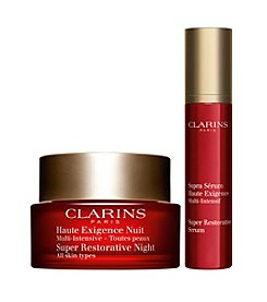 Clarins Super Restorative Anti-Aging Nighttime Duo (A $176 Value)