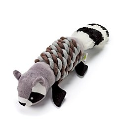 John Bartlett Pet Raccoon Wrap Toy
