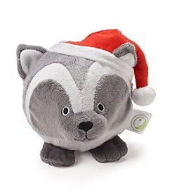 John Bartlett Pet Holiday Raccoon Face Toy