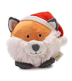 John Bartlett Pet Holiday Fox Face Toy