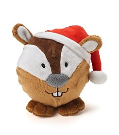 John Bartlett Pet Holiday Chipmunk Face Toy