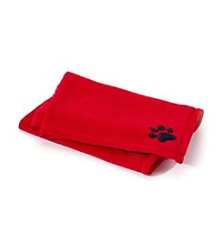 John Bartlett Pet Red Micro Cozy Throw