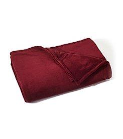 LivingQuarters Garnet Micro Cozy Blanket