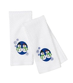 Croscill® Snowmen 2-pk. Kitchen Towels