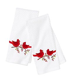 Croscill® Christmas Cardinal 2-pk. Kitchen Towels