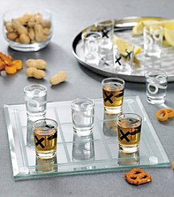 Crystal Clear® Tic Tac Toe Shot Glass Game