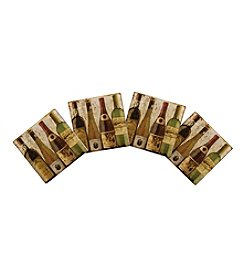 Thirstystone® Set Of Four  Bottled At The Vineyard Coasters