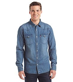 Levi's® Men's Long Sleeve Western Button Down Shirt