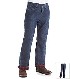 32 Degrees Men's Flannel Lined Denim Pants