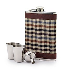 John Bartlett Statements Men's 8oz Flask Set