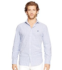 Polo Ralph Lauren® Men's Long Sleeve Checked Poplin Estate Button Down