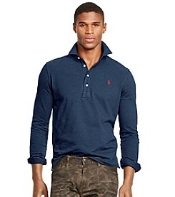 Polo Ralph Lauren® Men's Long Sleeve Estate Polo Shirt