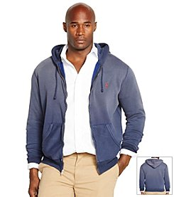 Polo Ralph Lauren® Men's Big & Tall Full-Zip Fleece Hoodie