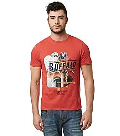 Buffalo by David Bitton Men's Short Sleeve Crew Neck Floral Graphic Tee