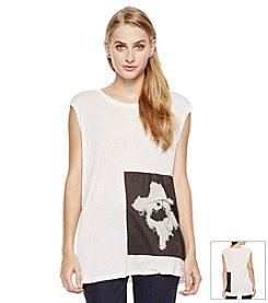 Vince Camuto® Flower Trance Tee