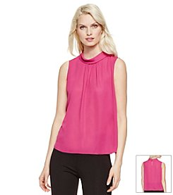 Vince Camuto® Mock Neck Blouse