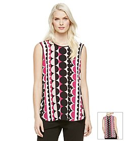 Vince Camuto® Retro Dots Blouse