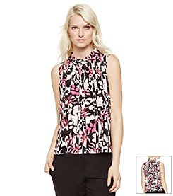 Vince Camuto® Broken Flowers Blouse