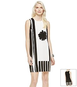 Vince Camuto® Flower Silhouette Dress