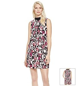 Vince Camuto® Broken Flowers Dress