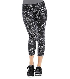 Calvin Klein Performance Cropped Print Running Tights