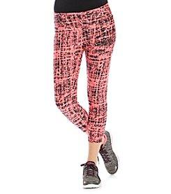 Calvin Klein Performance Cropped Crosshatch Running Tights