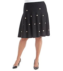Chelsea & Theodore® Plus Size Flare Skirt