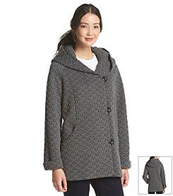 Gallery® Texture Pattern Swing Coat
