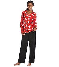 Intimate Essentials® Fleece Pajama Set