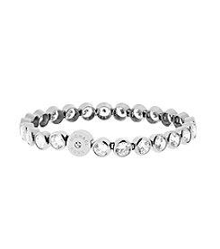 Michael Kors® Silvertone Round Cut StoneTennis Bracelet