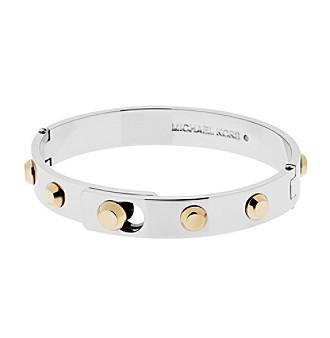 Michael Kors® Two Tone Astor Hinge Bracelet