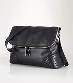 Lauren Ralph Lauren® Roscoe Leather Messenger Bag