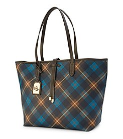 Lauren Ralph Lauren® Crawley Plaid Tote