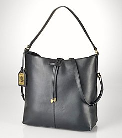 Lauren Ralph Lauren® Crawley Leather Hobo