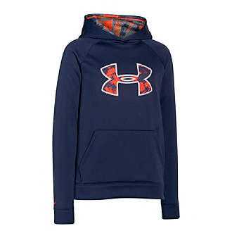 c12afe53b92 ... Hoodie - UPC 888376907822 product image for Under Armour® Boys  8-20  Storm Armour Fleece ...