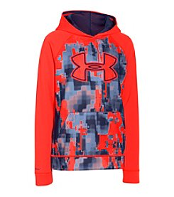 Under Armour® Boys' 8-20 Storm Armour® Fleece Printed Big Logo Hoodie