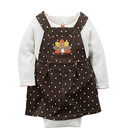 Carter's® Baby Girls' 2-Piece Thanksgiving Jumper Set