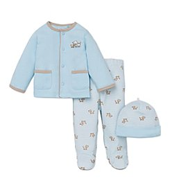 Little Me® Baby Boys Striped Puppy Take Me Home Set