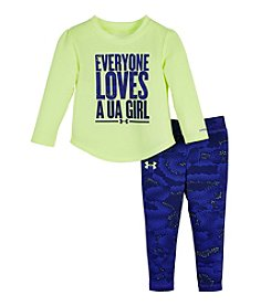 Under Armour® Baby Girls' Everyone Loves A Ua Girl Set