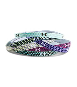Under Armour® Girls' 6-Pack Graphic Mini Headbands