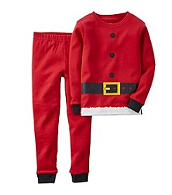 Carter's® Boys' 12M-8 Two-Piece Dress Like The Big Guy PJs