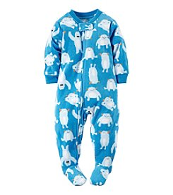 Carter's® Boys' 12M-4T Yacking Yeti Printed Sleeper